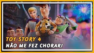TOY STORY 4 🤠 O FILME NÃO É PARA TE FAZER CHORAR | COXINHA NERD