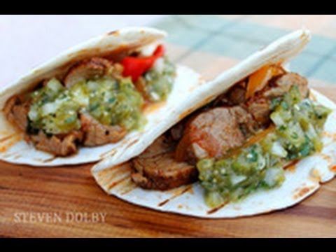 Healthy Braised Pork Tacos With Tomatillo Salsa Verde Recipe