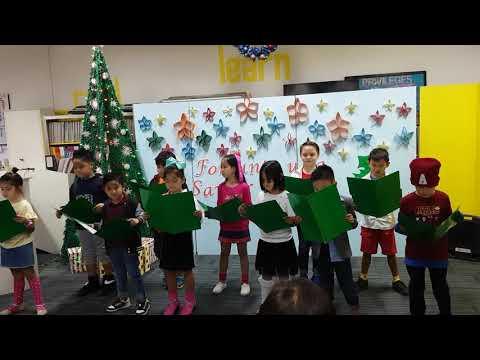 Christian Harvest Academy Grade 1 to 3 Christmas Medley 2018