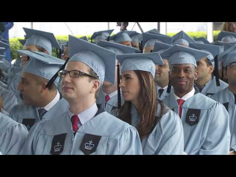 Columbia Business School  EMBA Recognition Ceremony