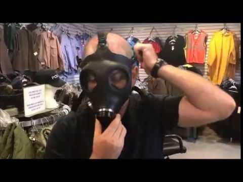 Israeli Gas Mask Reviewed