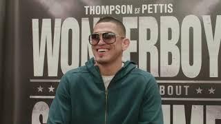UFC Нэшвилл: Энтони Петтис - Интервью перед боем