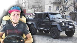 КОГДА КУПИЛ ГЕЛИК 6х6 - City Car Driving с РУЛЕМ