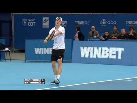 Alex Lazarov - Radu Albot Highlights. Sofia Open 2017.