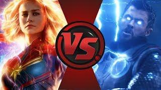 Captain Marvel VS Thor With Stormbreaker [MCU] ► Fanfiction Clash!