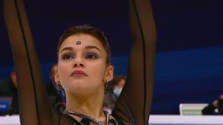 Софья Самодурова Короткая программа Женщины Гран при по фигурному катанию 2020 21 Rostelecom Cup
