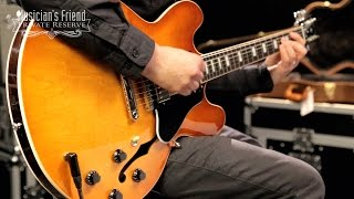 Download Gibson 2016 ES-335 Semi-Hollow Electric Guitar MP3 song and Music Video