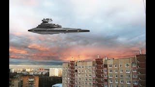 Жители города не знали куда прятаться! НЛО реальные видео кадры