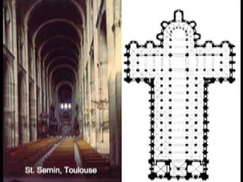 gothic v romanesque architecture The design of space in gothic architecture  into infinity by the dominant appearance of an optical track ‐absent in romanesque architecture ‐ from the.