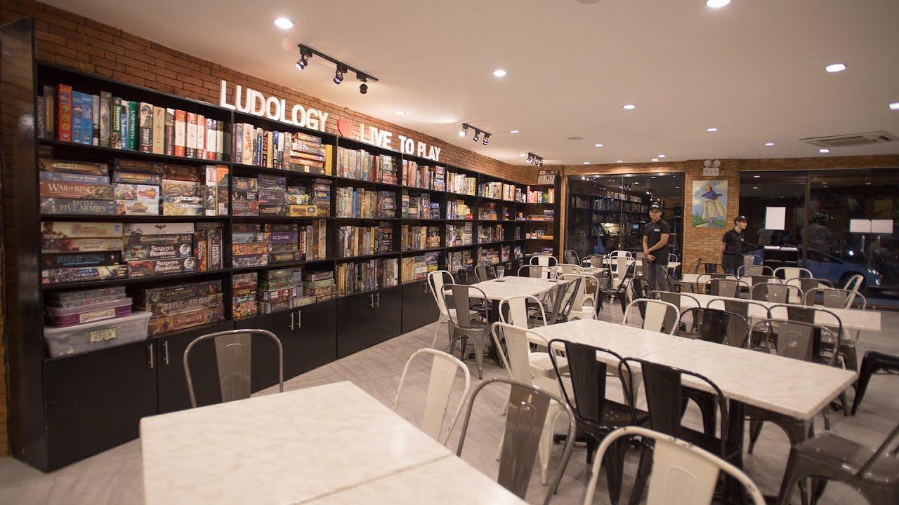 Ludo Boardgame Bar Cafe