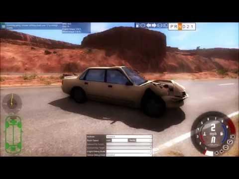 BeamNG.Drive Slow motion Crashes