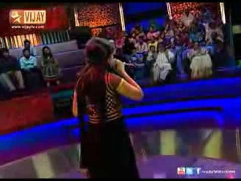 Parvathy sings Vizhiye Kadhai Ezhuthu in Super Singer 4 13 06 2013  All Tamil Serials Online   Sun t