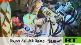 توجه رواد فضاء من روسيا إلى محطة الفضاء الدولية