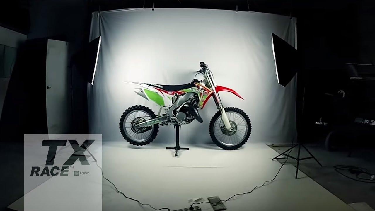 2002 2008 Honda Cr 125 250 R Dirt Bike Graphics Kit Motocross 97 Rt100 Carb Diagram Yamaha 2stroke Thumpertalk Tx Race Conversion For 2 Stroke 2003 2004 2005 2006 2007 Youtube