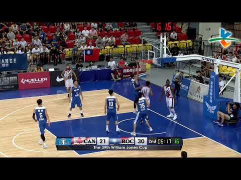 HIGHLIGHTS: Chinese Taipei-A vs. Canada 3D Global Sports (VIDEO) Jones Cup 2017