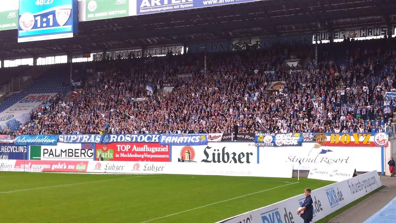 F C Hansa Rostock Ostseestadion Youtube