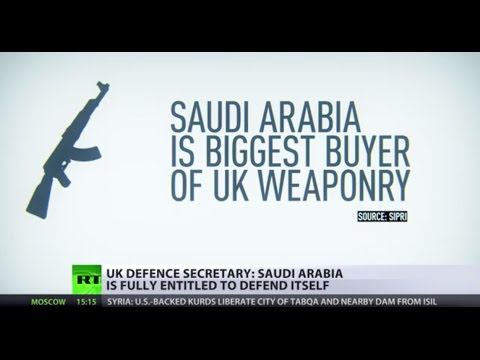 'Key partner': Britain Defence Minister defends arm sales to Saudi Arabia