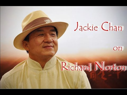 Jackie Chan on Richard Norton