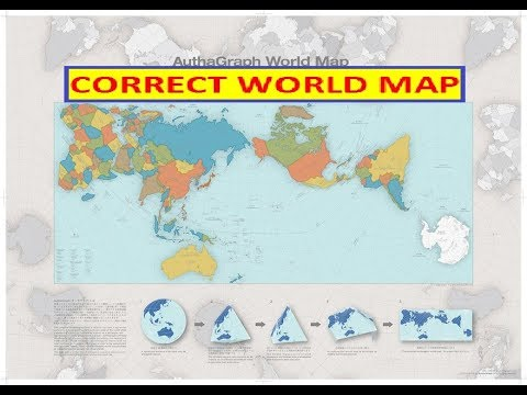 ACTUAL WORLD MAP   YouTube