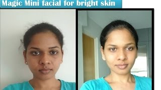 quick home Facial for Crystal clear  bright skin| Star Natural Beauties
