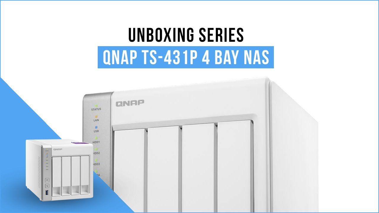 QNAP TS-431P 4 Bay Diskless NAS Alpine AL-212 Dual Core CPU 1GB RAM
