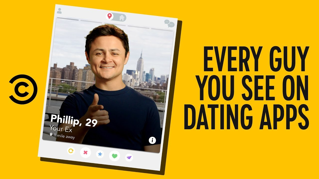 6 Guys You See on Every Dating App - Alternatino