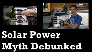 Off-grid Solar Myth Debunked and Explained: 2 or more Solar Charge Controllers + 1 Battery