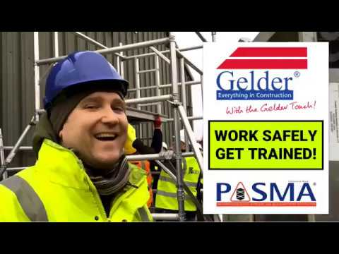 Gelder Group Training: PASMA Mobile Access Towers
