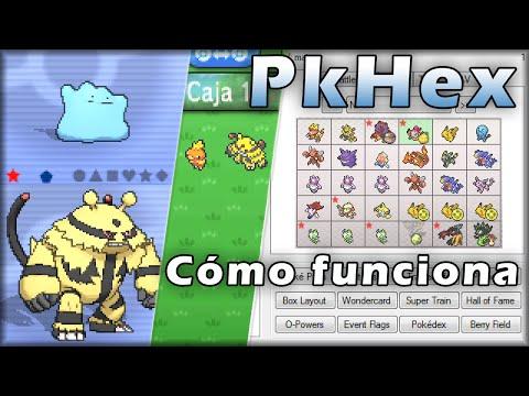 PKHeX-edita tus partidas de Pokémon X/Y OR/AS-(Versión más