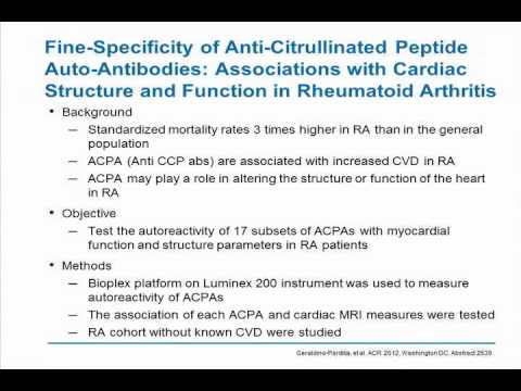 Cardiovascular Aspects in RA and SLE - Ep. 8