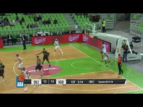 ABA Liga 2017/18, Round 1 match: Petrol Olimpija - Igokea (2.10.2017)