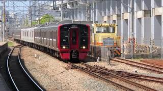 鹿児島本線813系+817系快速列車