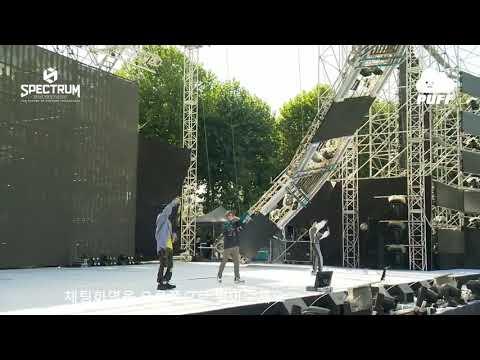 [180909] EXO-CBX - Rhythm After Summer + Cherish at SPECTRUM Dance Music Festival 2018