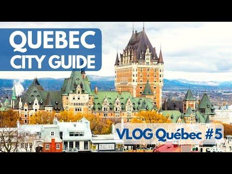 QUEBEC City Guide et le château FRONTENAC - VLOG Québec #5