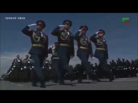 Grozny  Chechnya Victory Day Parade 2017