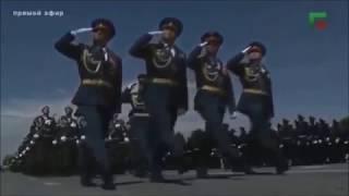 Grozny  Chechnya Victory Day Parade 2017