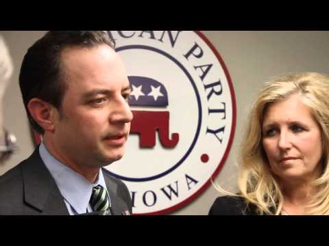 Republican National Committee chairman Reince Priebus on listening tour stops in Iowa