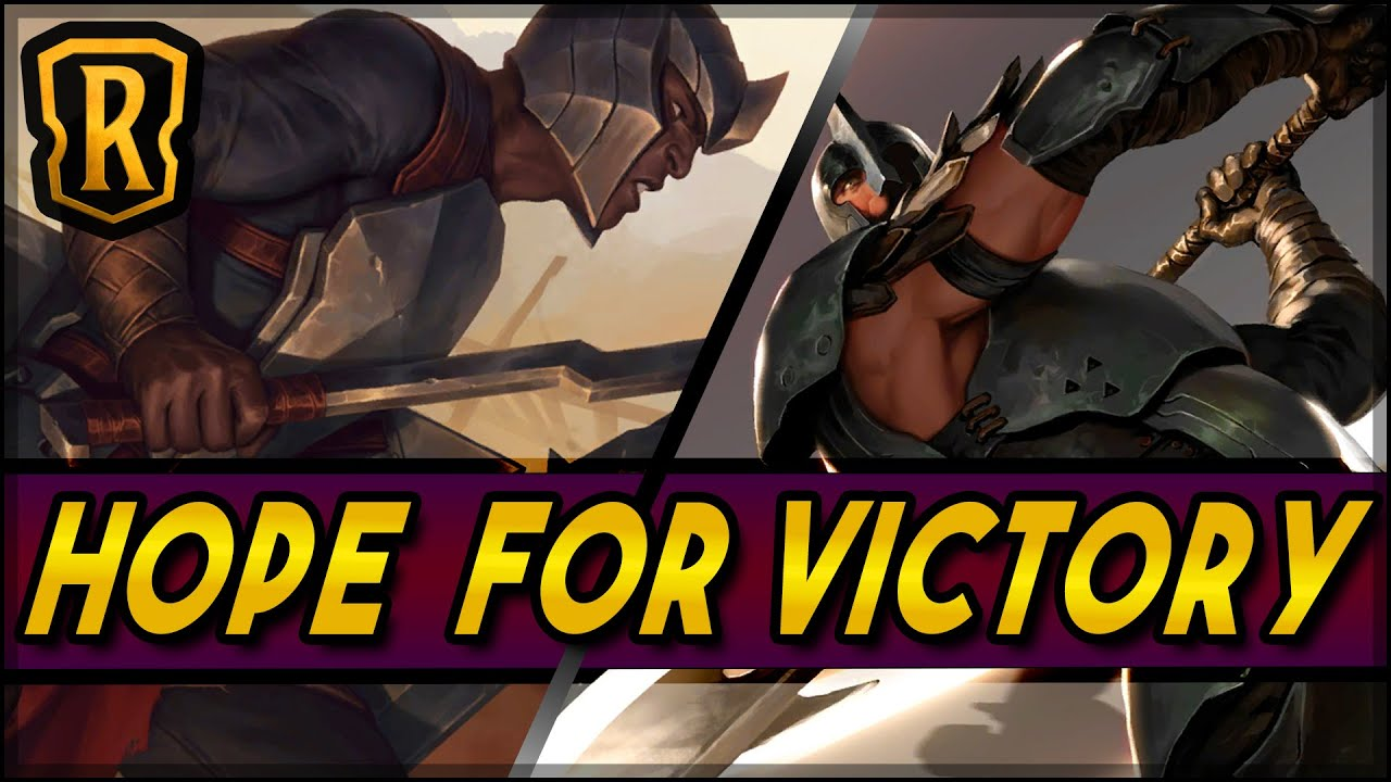 Hope For Victory (Noxus Aggro) | Season of Fortune | LoR Game | Legends of Runeterra