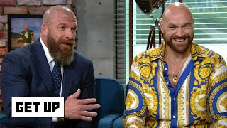 Tyson Fury is 'custom-made' for WWE - Triple H | Get Up