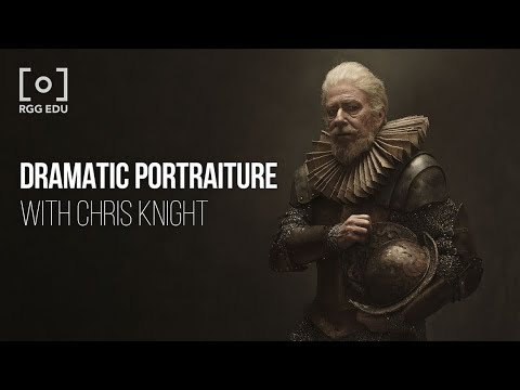 Dramatic Portraiture & Lighting with Chris Knight | An RGG EDU Photography Course