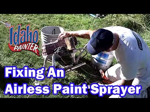 Replacing a Titan 440 Pump Filter  Repairing a Titan airless sprayer