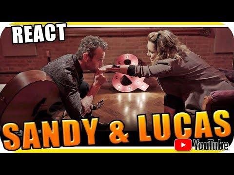 SANDY e LUCAS LIMA - Nós VOZ Eles - Marcio Guerra React