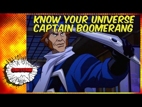 Digger Harkness (Captain Boomerang) - Know Your Universe