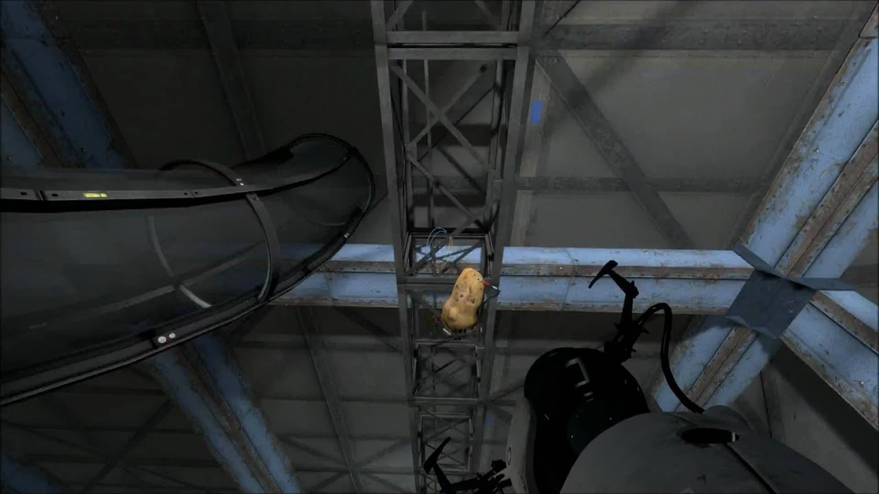 glados portal 2 potato - photo #30