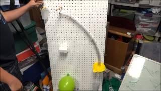 Tony's Rube Goldberg Project - Villa Park High School - Concept Physics June 2013