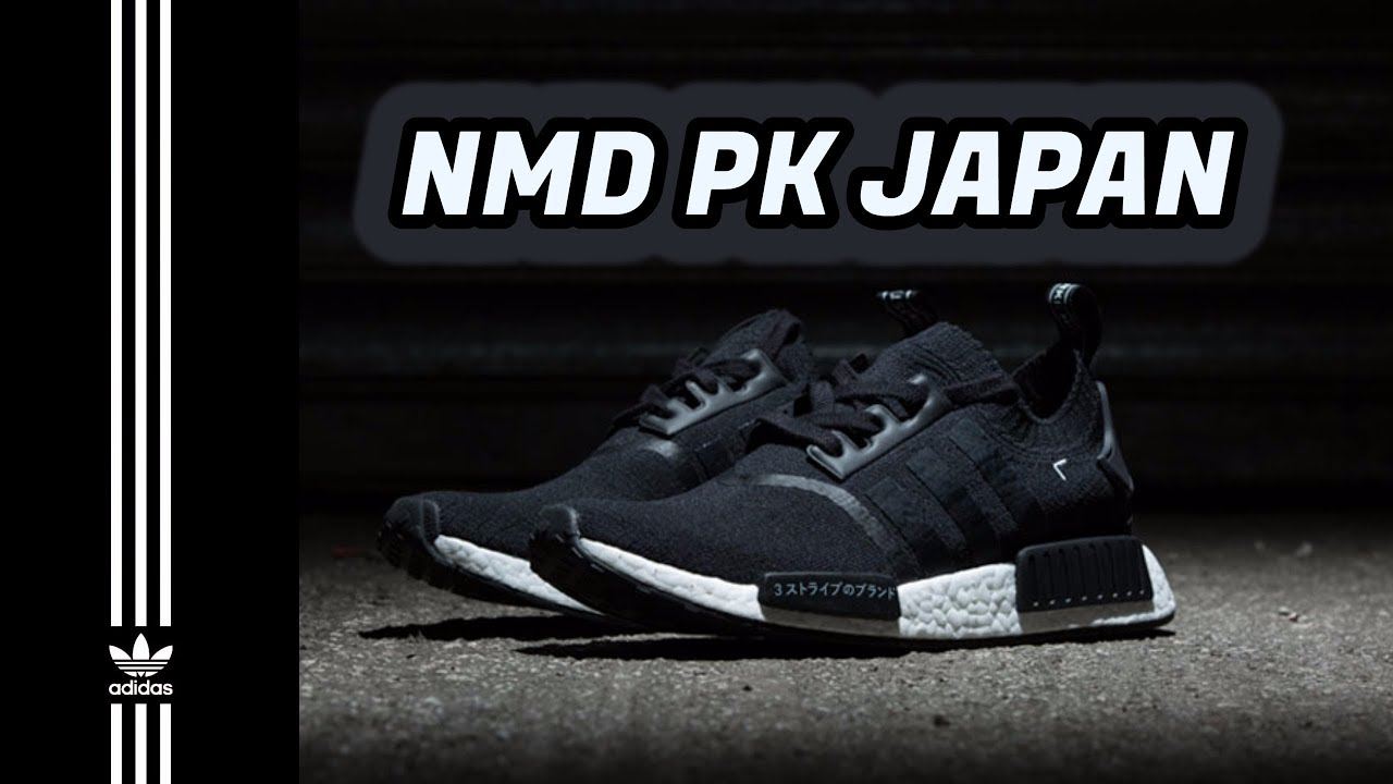 6a1875a51 Unboxing adidas NMD R1 PK Japan Black Boost - On Feet - YouTube