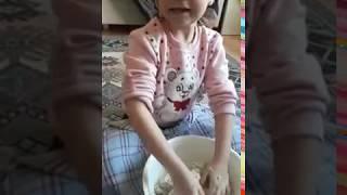 Hamur yoğurdum (kız istedik)