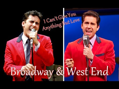 I Can't Give You Anything But Love  John Lloyd Young Broadway & West End