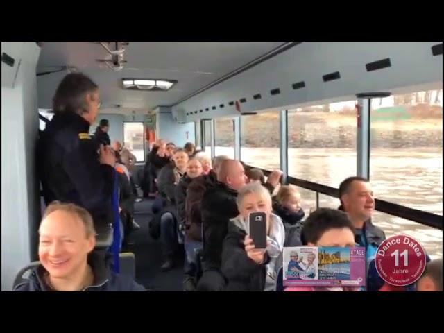 Dance Dates Tanzreisen - Hamburg 2018 - Mit dem Bus durch die Elbe