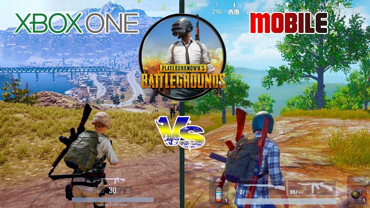 Pubg Xbox Vs Pubg Mobile Graphics Comparison Unreal Engine 4